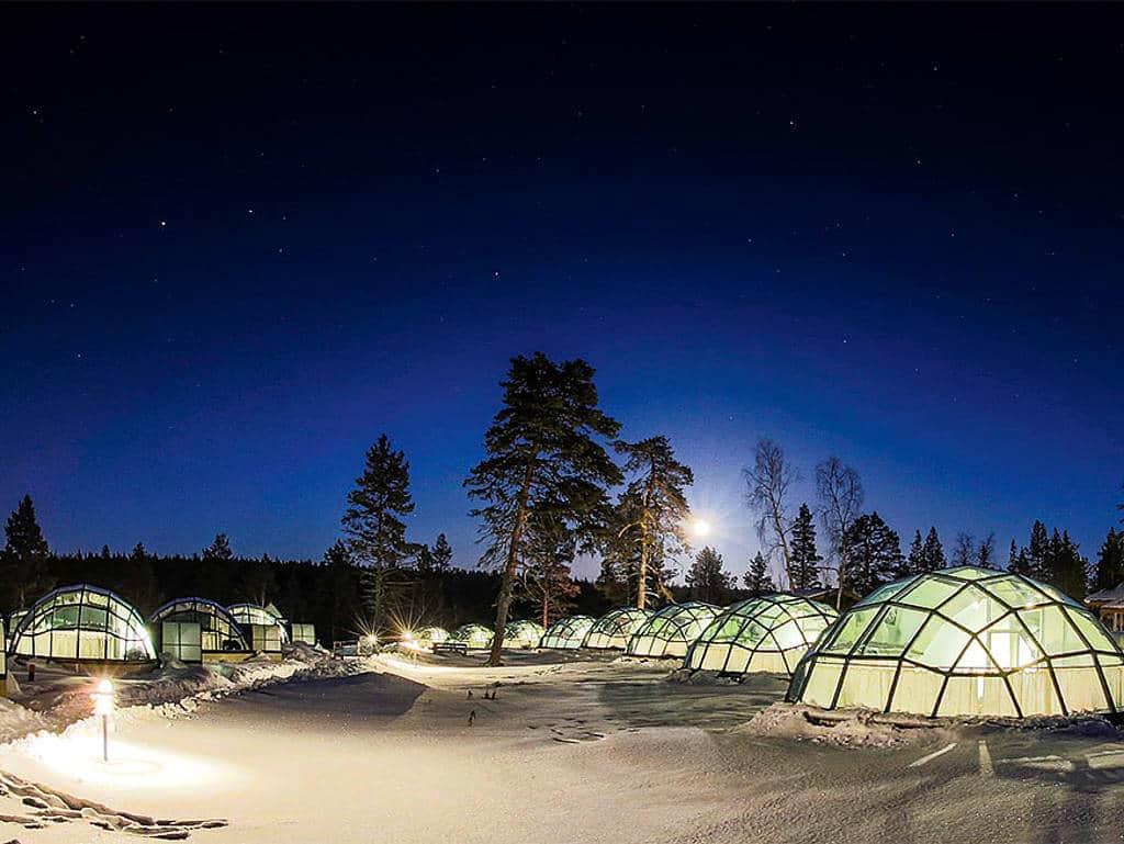 Kakslauttanen Finnland