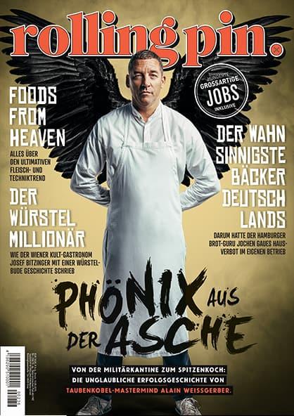 Rolling Pin Cover 236 Allain Weissgerber als Phoenix aus der Asche