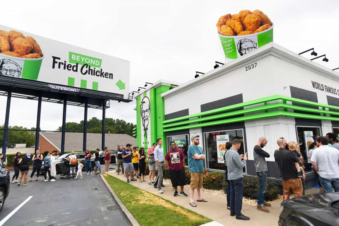 KFC Fake Fried Chicken, Beyond Meat