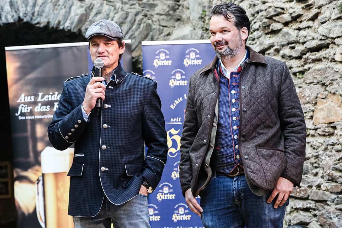 Günther Jordan und Niki Riegler
