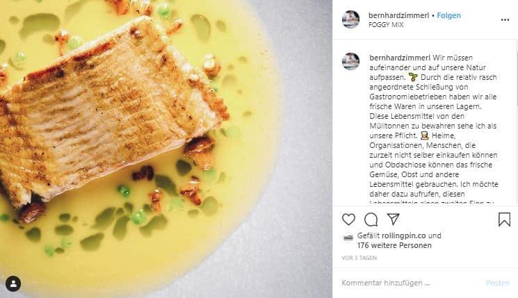 Corona-Virus, Gastronomie, Charity, Bernhard Zimmerl