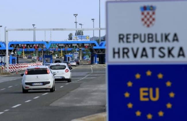 Kroatien-Grenze-SIS