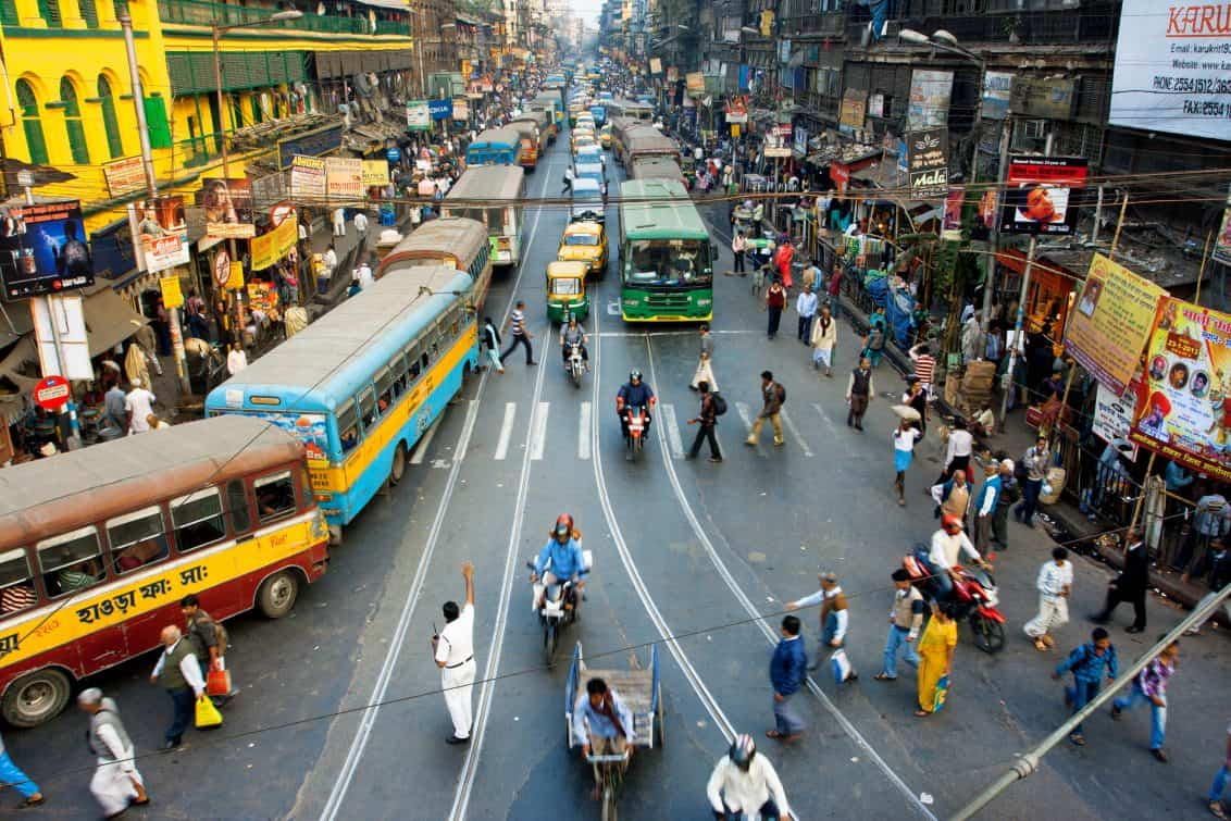 Indien Verkehr Gastro-Liveticker Rolling Pin