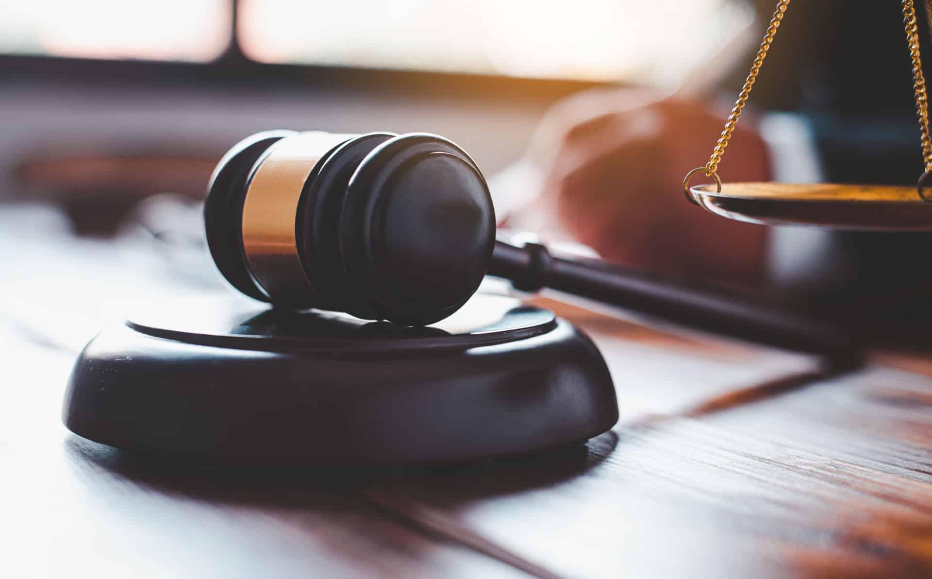 Gericht-Richter-Stock