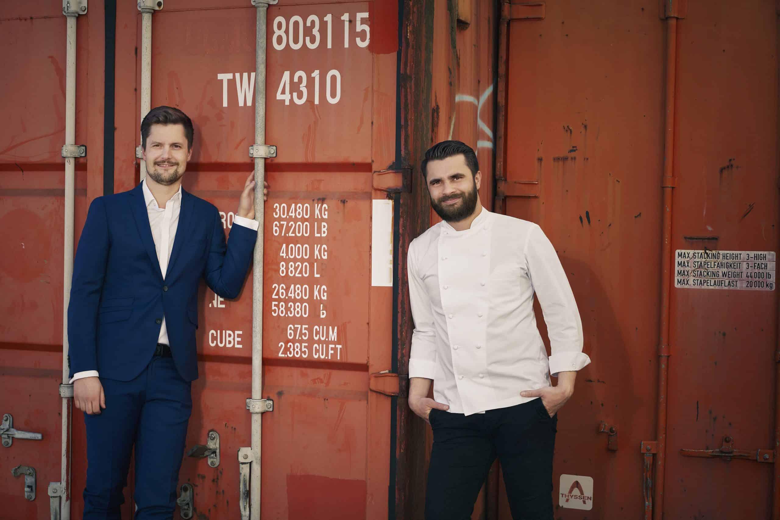 Dennis Melzer und Felix Kress vom Cumberland Restaurant