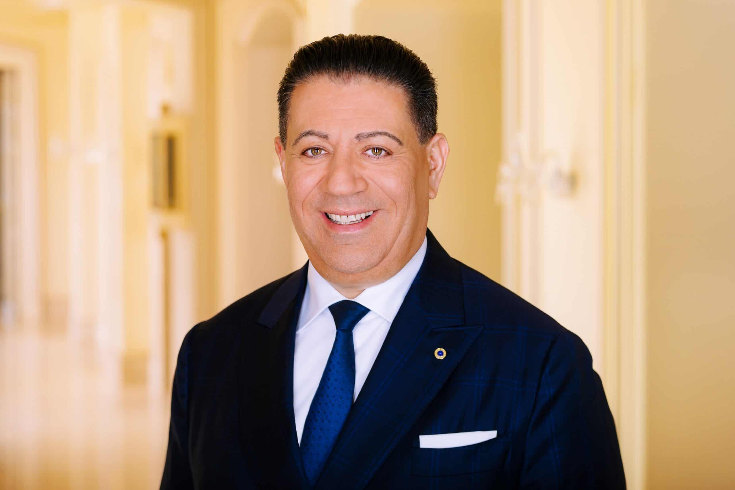 Spiridon Sarantopoulos VP Luxury Hotels Portrait