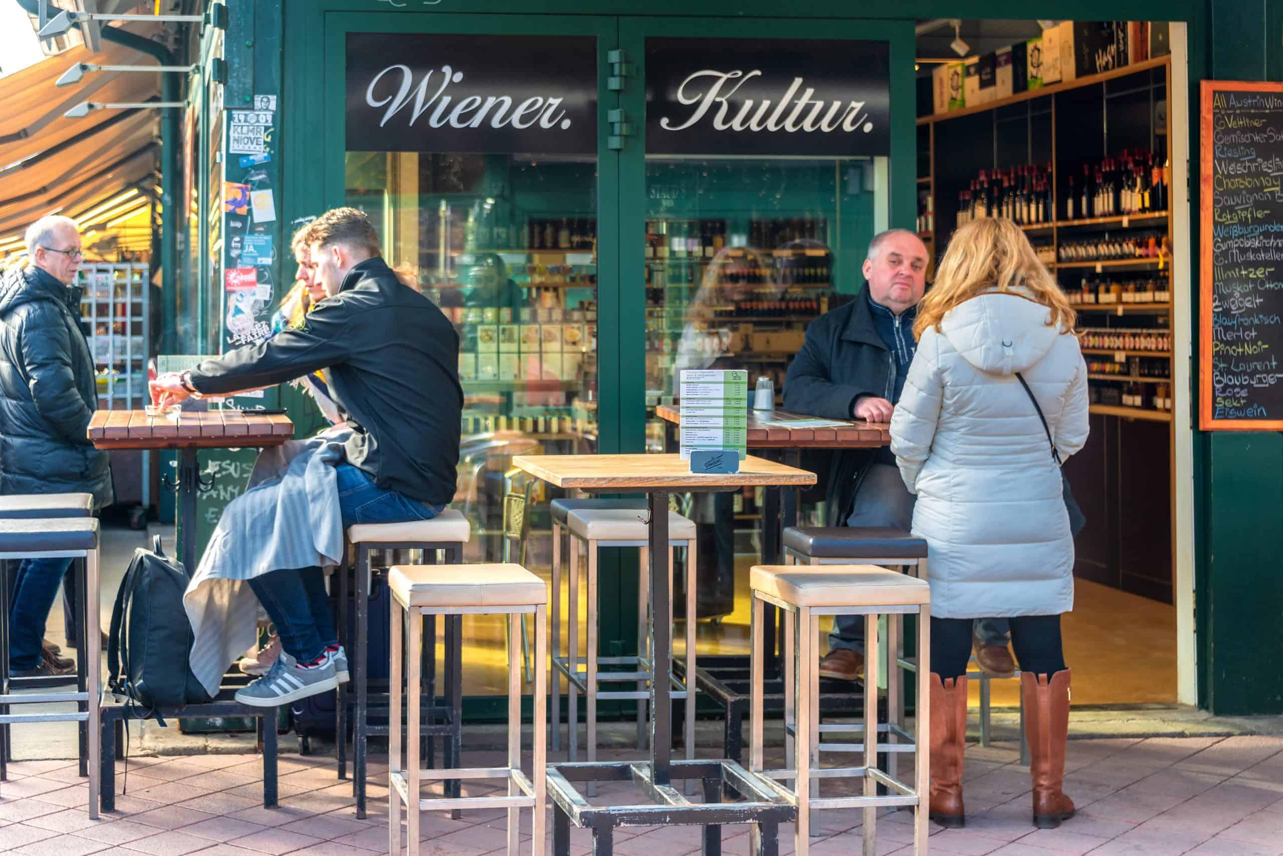 Außengastronomie in Wien