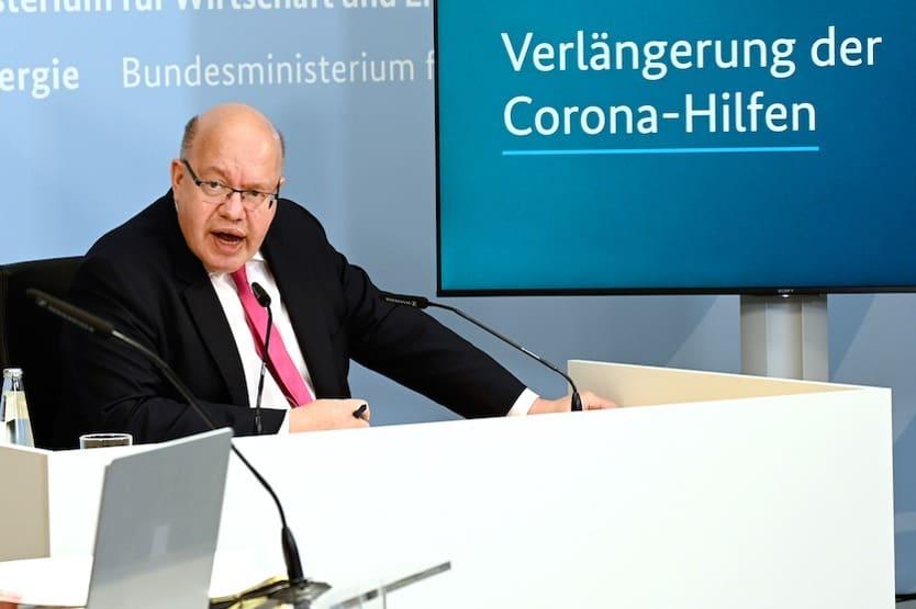 Bundeswirtschaftsminister Altmaier