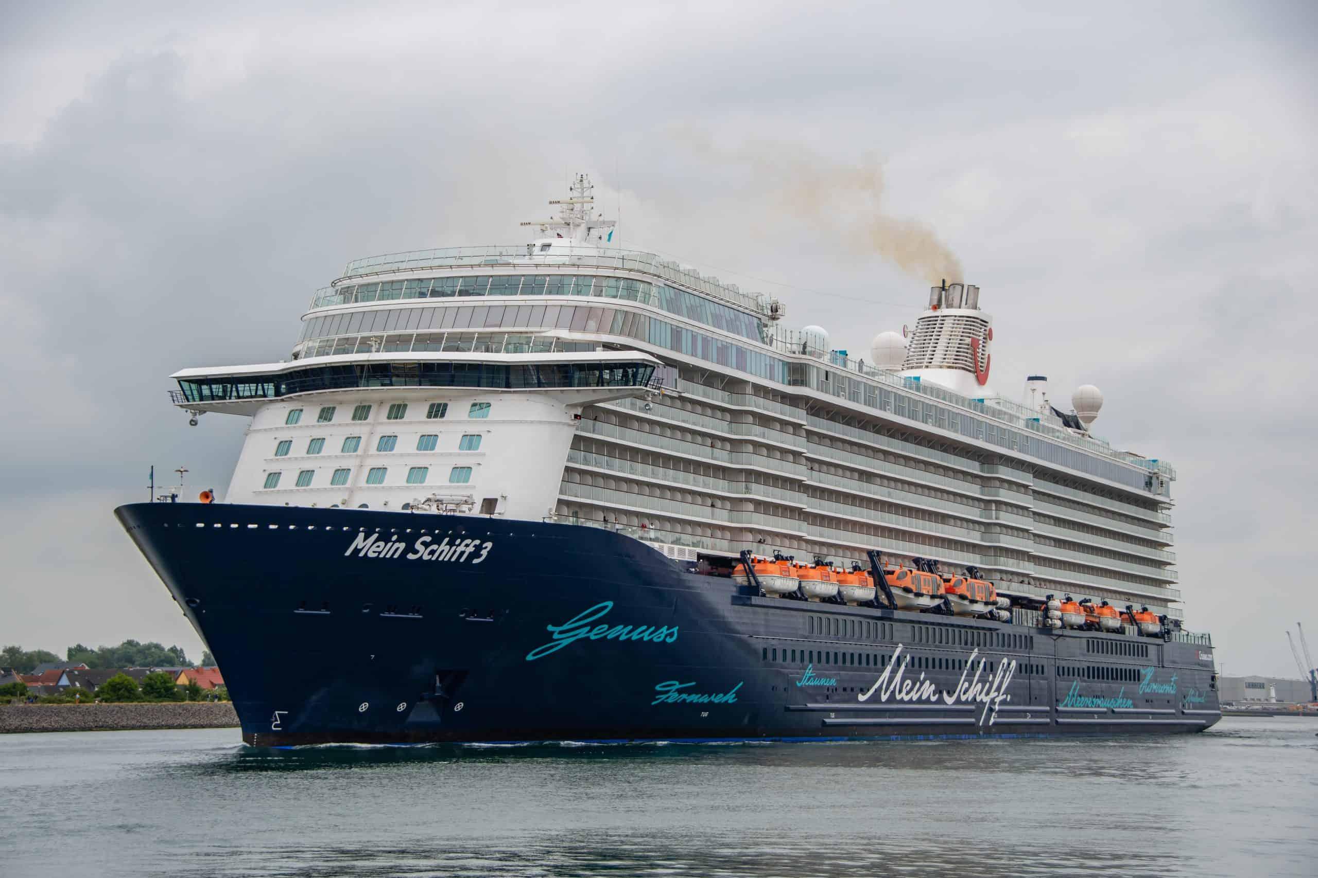 Schiff von TUI Cruises