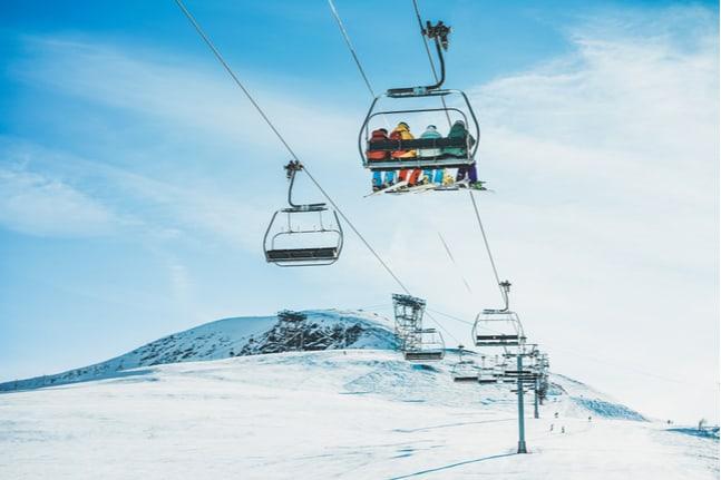Skilift in Österreich